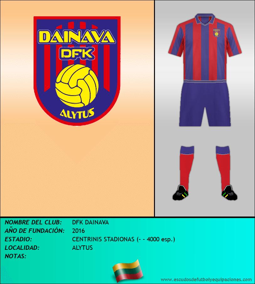 Escudo de DFK DAINAVA