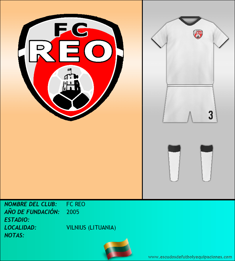 Escudo de FC REO