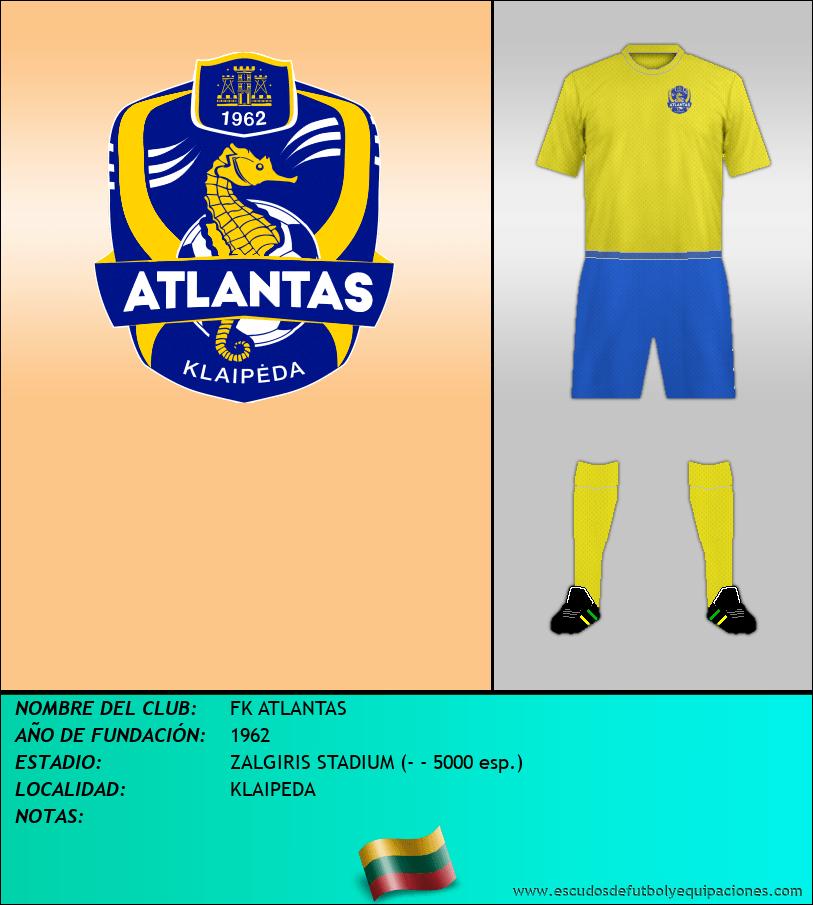 Escudo de FK ATLANTAS