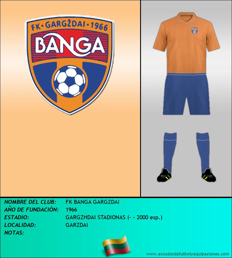 Escudo de FK BANGA GARGZDAI