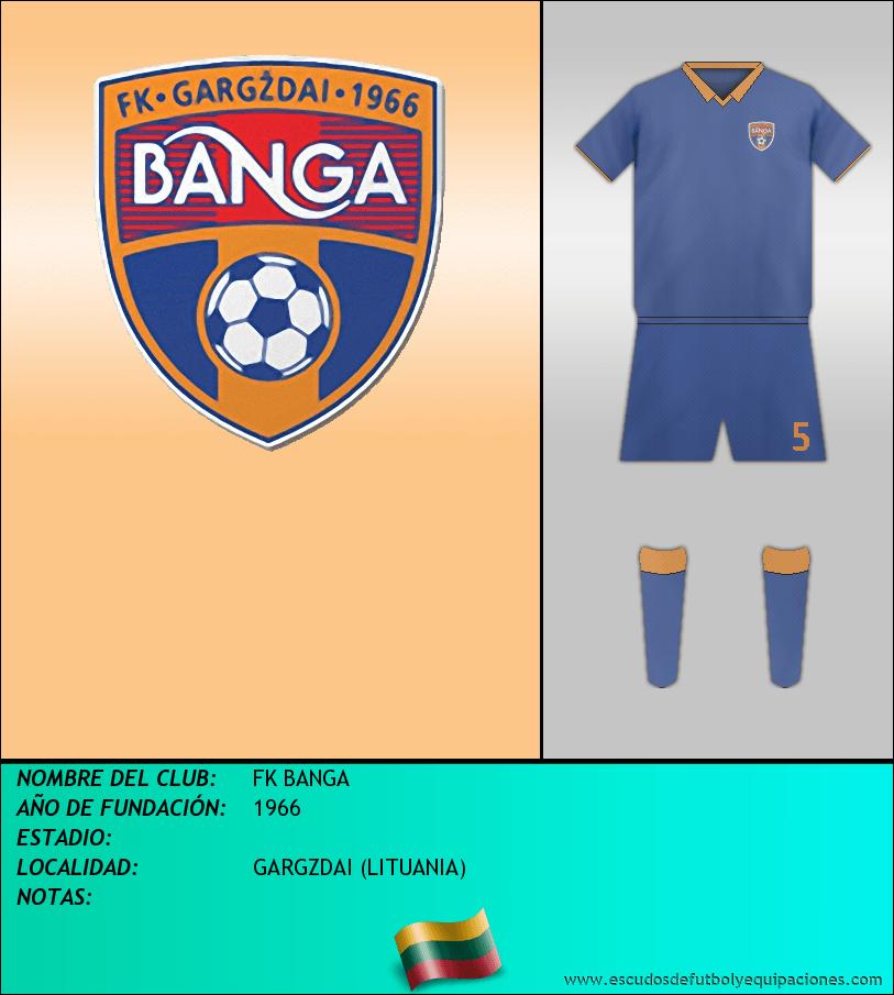 Escudo de FK BANGA