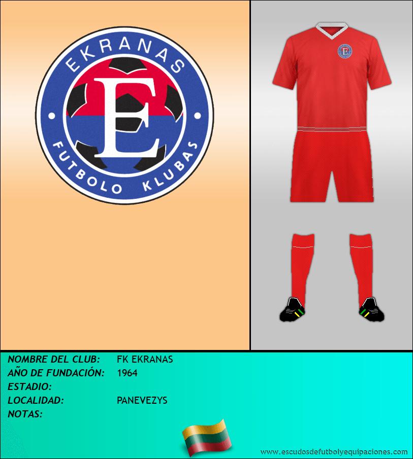Escudo de FK EKRANAS