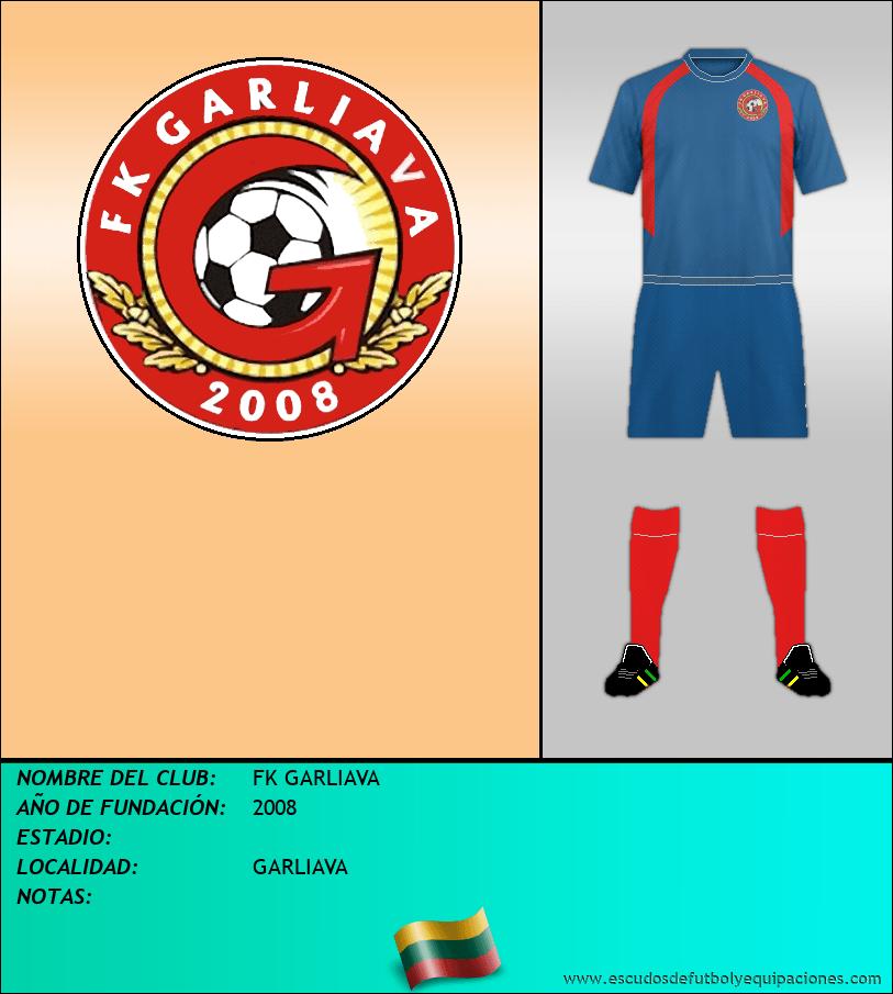 Escudo de FK GARLIAVA