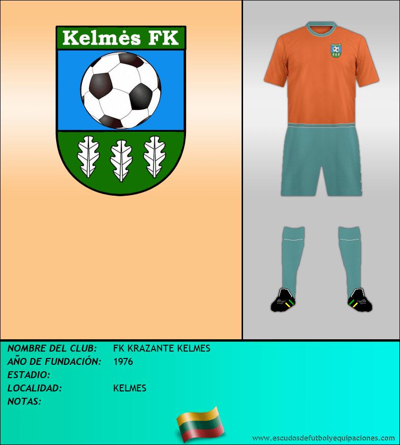Escudo de FK KRAZANTE KELMES