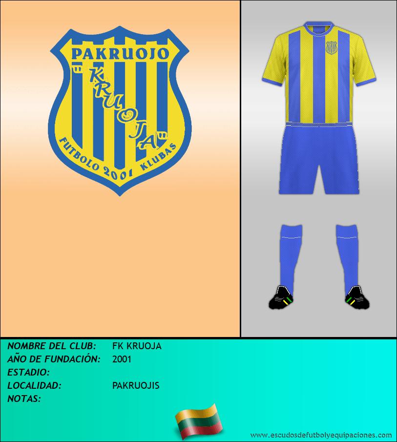 Escudo de FK KRUOJA