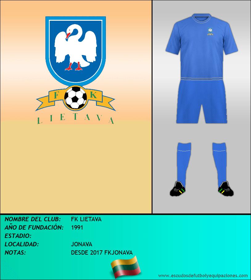 Escudo de FK LIETAVA