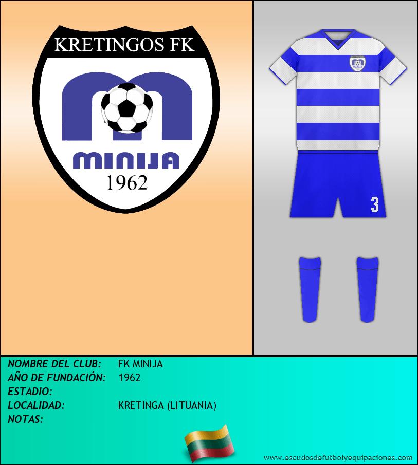 Escudo de FK MINIJA