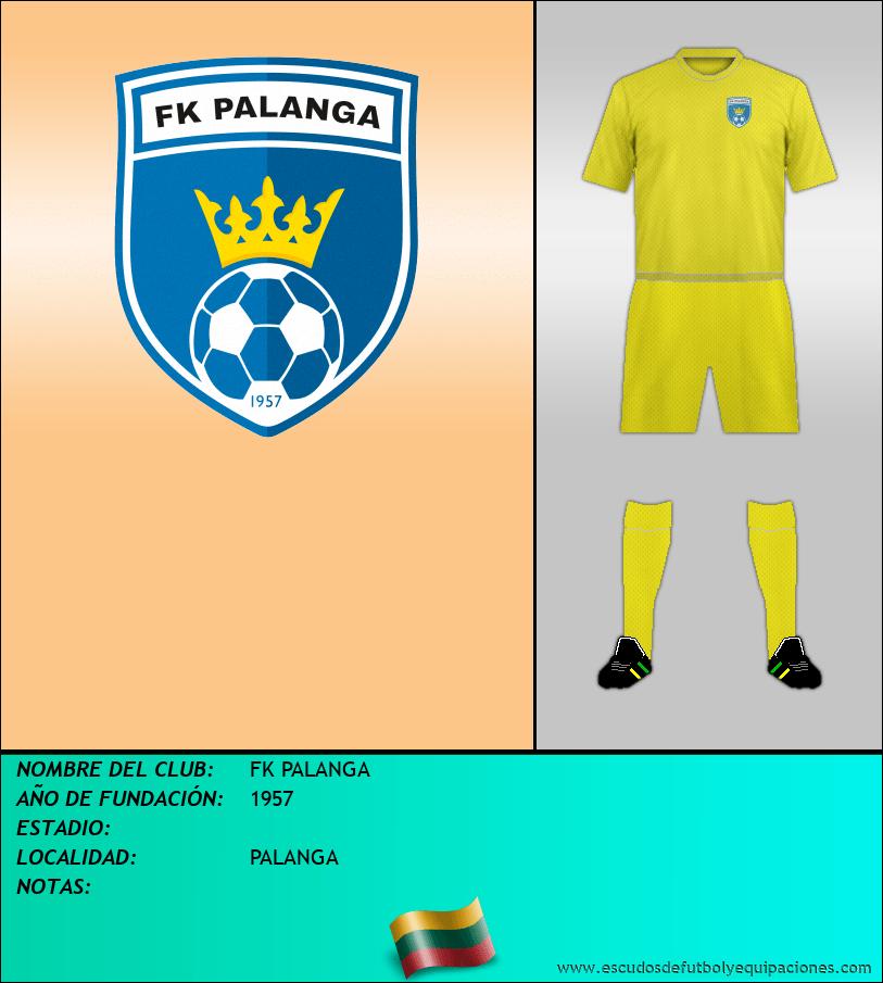 Escudo de FK PALANGA