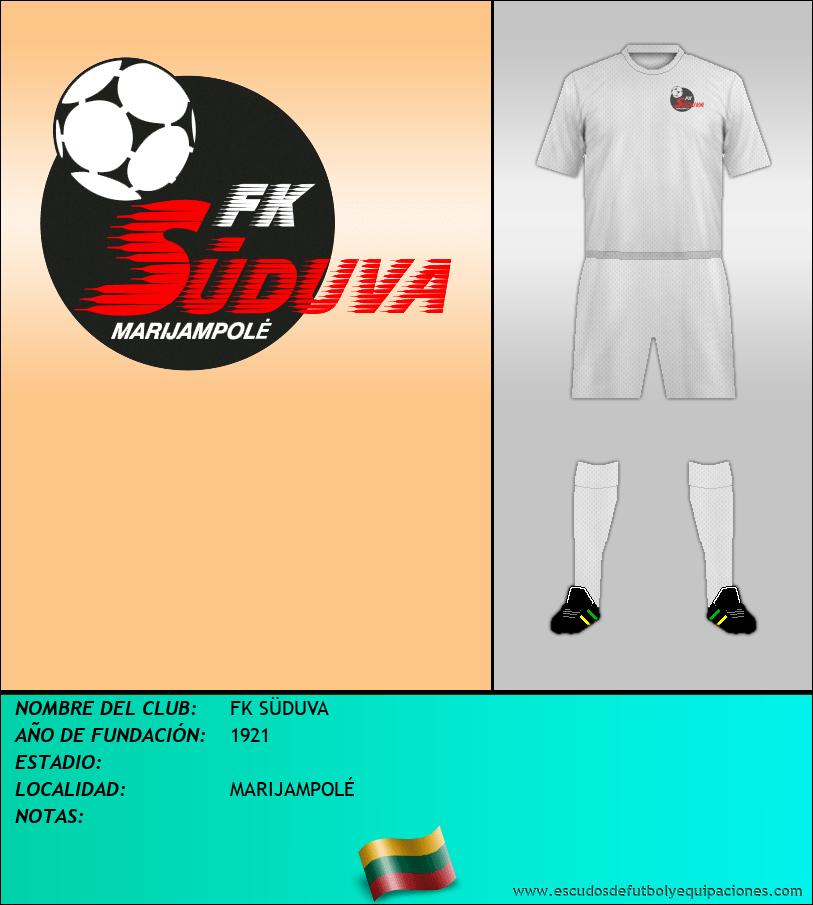 Escudo de FK SÜDUVA