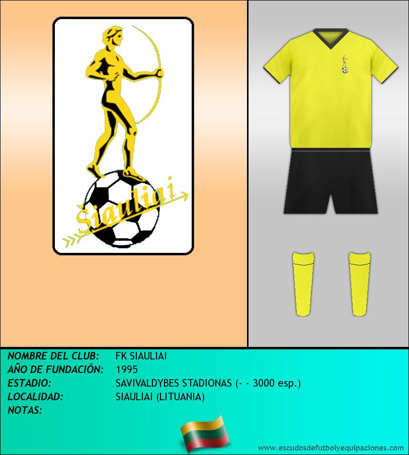Escudo de FK SIAULIAI