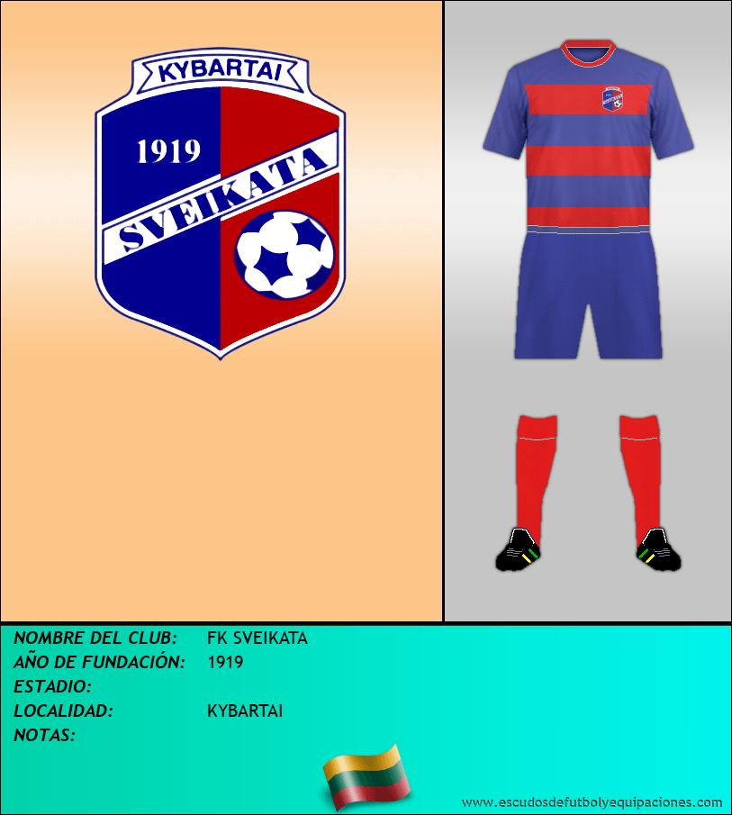 Escudo de FK SVEIKATA