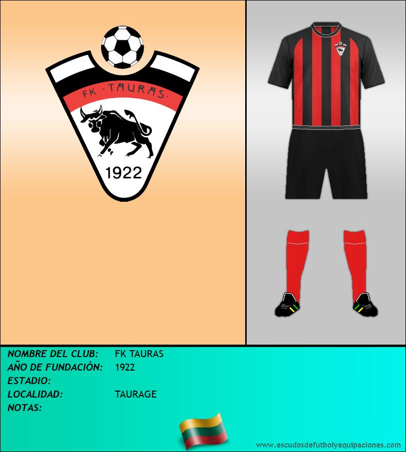 Escudo de FK TAURAS