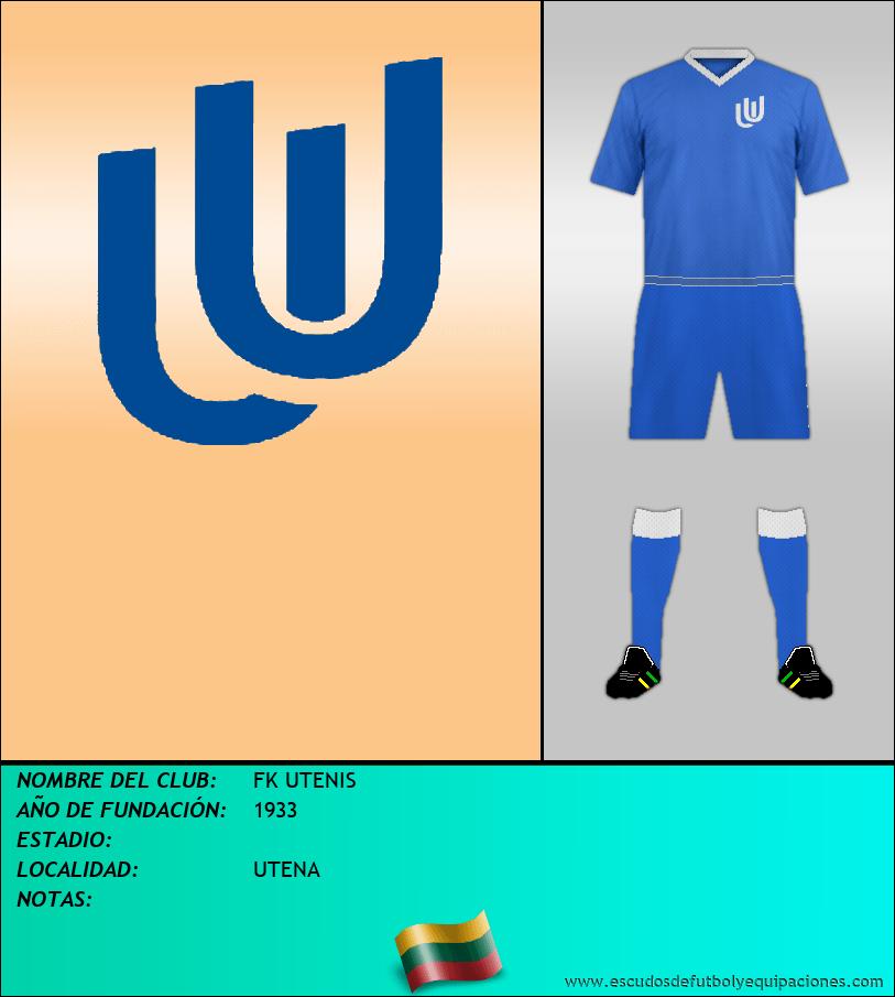 Escudo de FK UTENIS