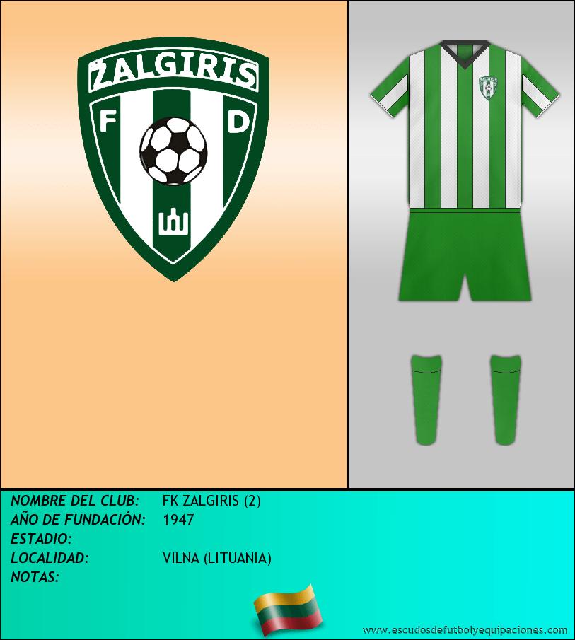 Escudo de FK ZALGIRIS (2)