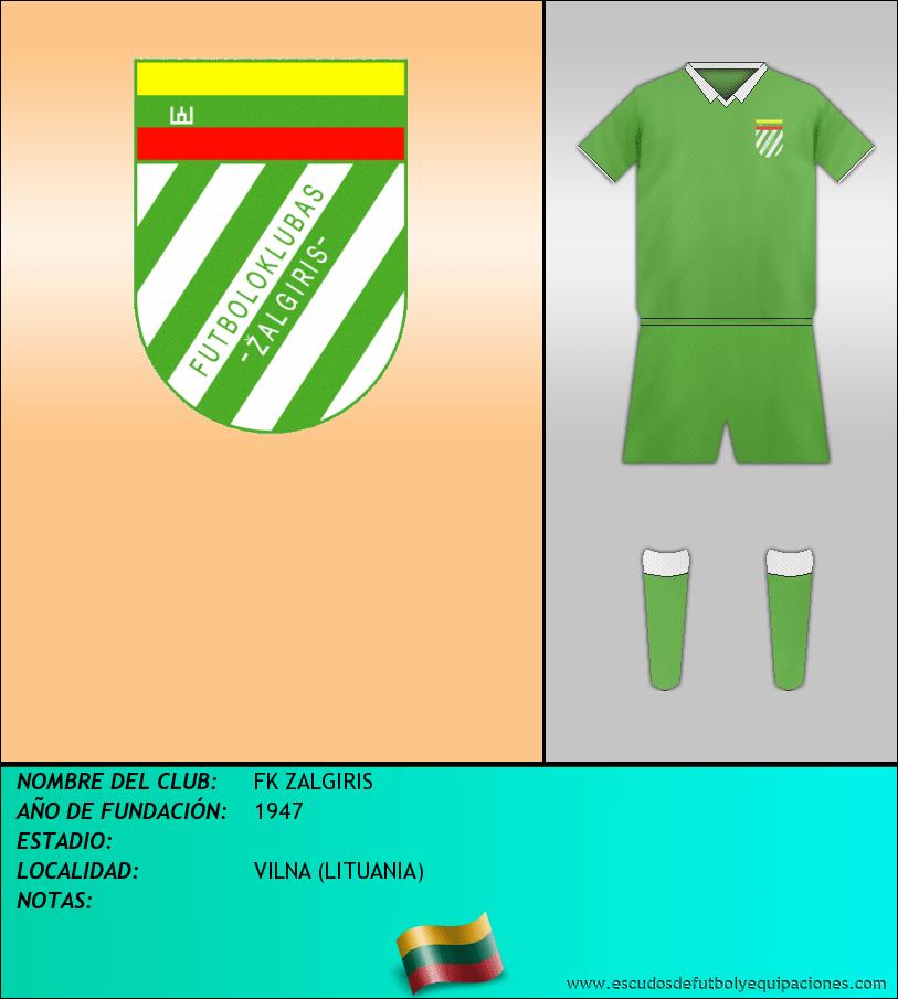 Escudo de FK ZALGIRIS
