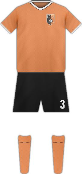 Equipación FC 72 ERPELDANGE