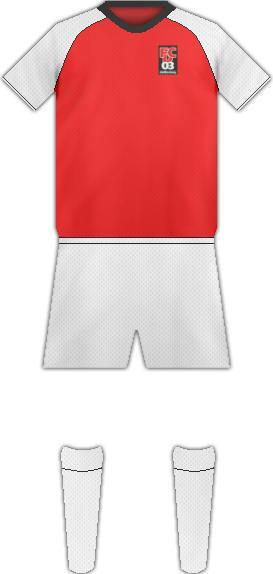 Equipación FC DIFFERDANGE