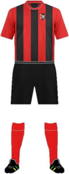 Equipación FC MONDERCANGE