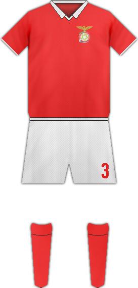 Equipación FC RM HAMM BENFICA