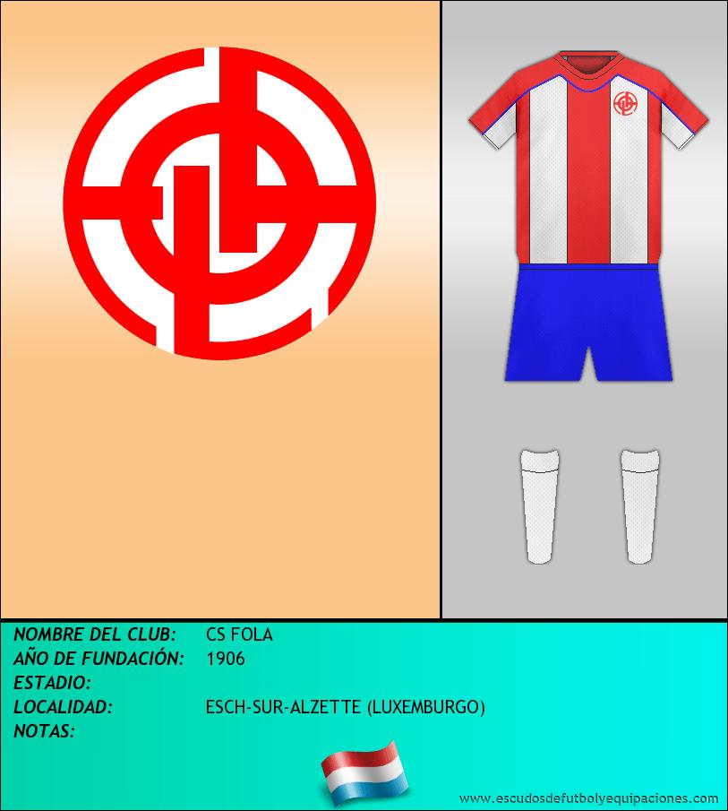 Escudo de CS FOLA