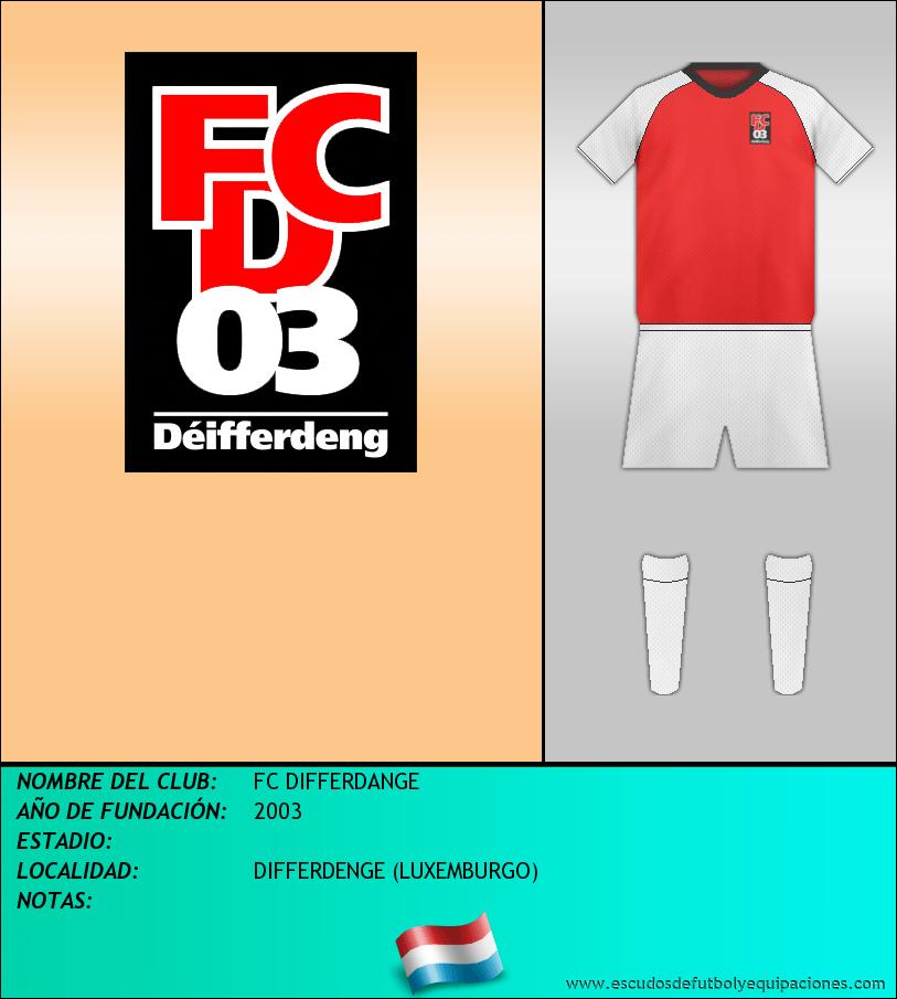 Escudo de FC DIFFERDANGE