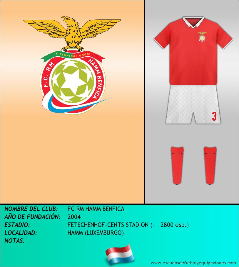 Escudo de FC RM HAMM BENFICA