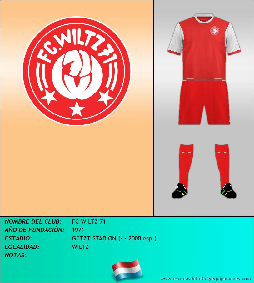 Escudo de FC WILTZ 71