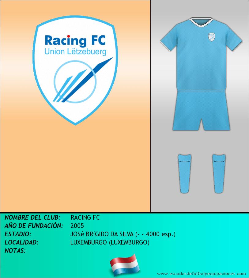 Escudo de RACING FC