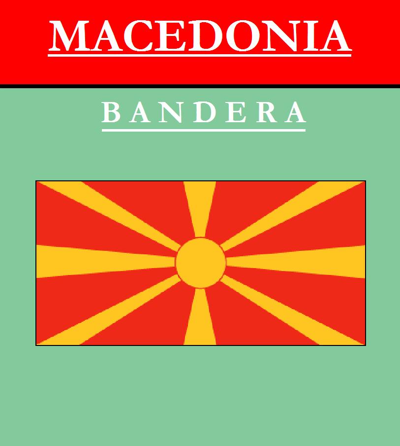 Escudo de BANDERA DE MACEDONIA