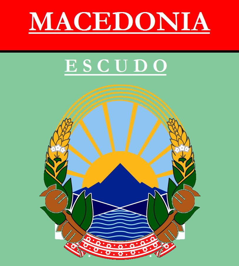 Escudo de ESCUDO DE MACEDONIA