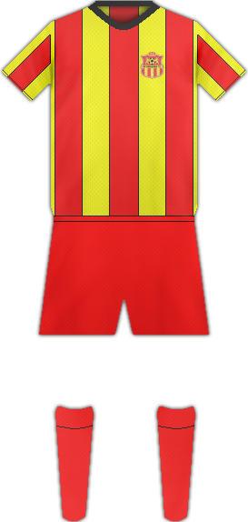 Equipación FK MAKEDONIJA