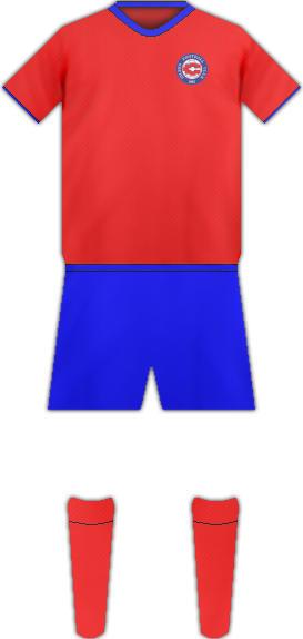 Equipación SILEKS FC