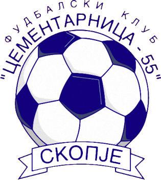 Escudo de FK CEMENTARNICA 55 (MACEDONIA)