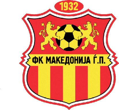 Escudo de FK MAKEDONIJA (MACEDONIA)