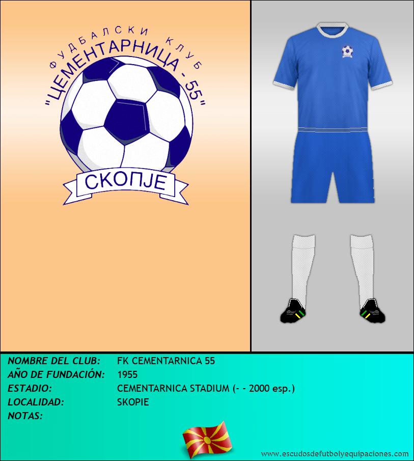 Escudo de FK CEMENTARNICA 55