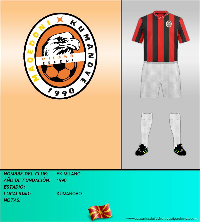 Escudo de FK MILANO