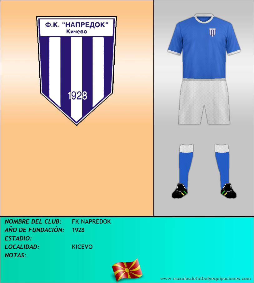 Escudo de FK NAPREDOK