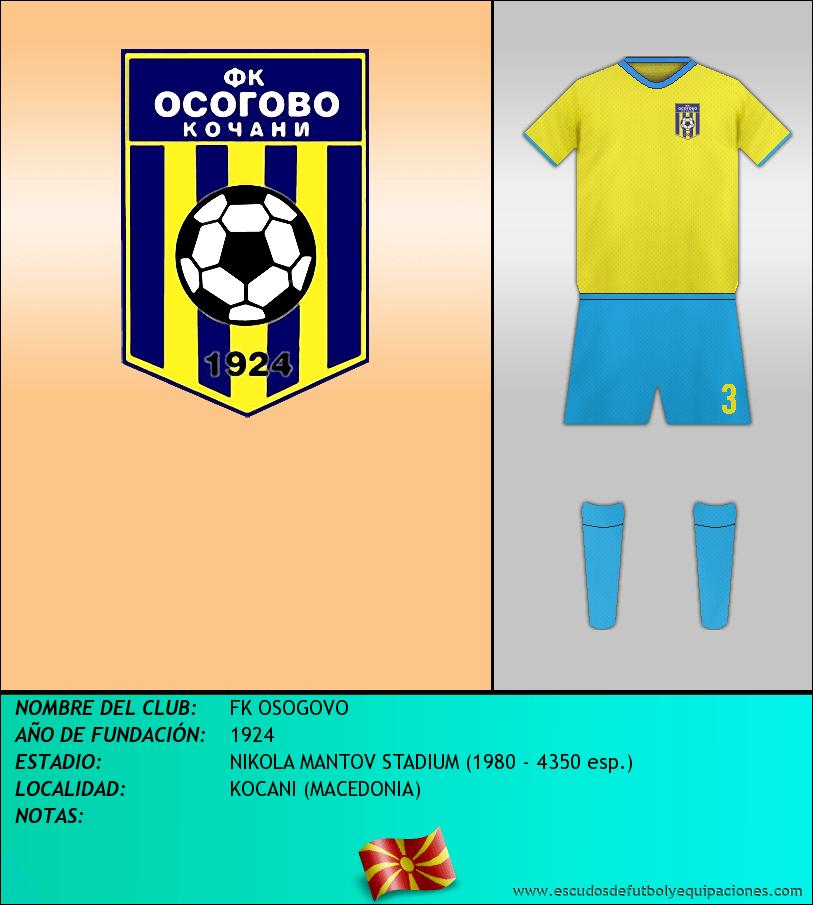 Escudo de FK OSOGOVO