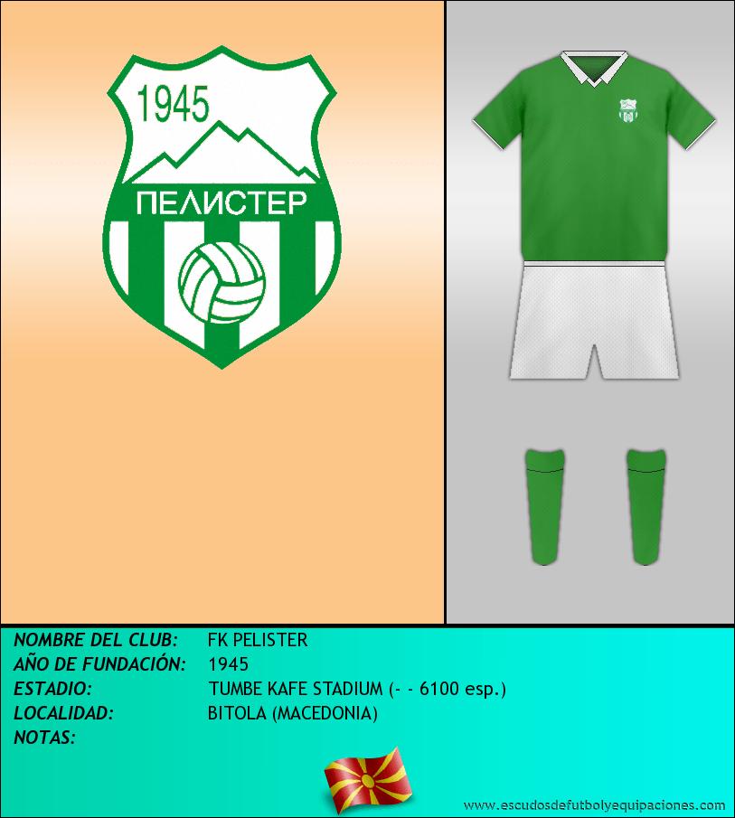 Escudo de FK PELISTER