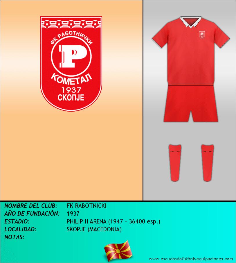 Escudo de FK RABOTNICKI