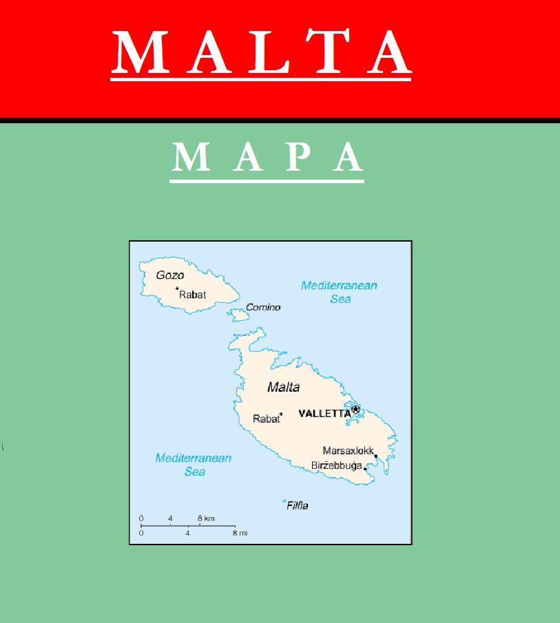 Escudo de MAPA DE MALTA