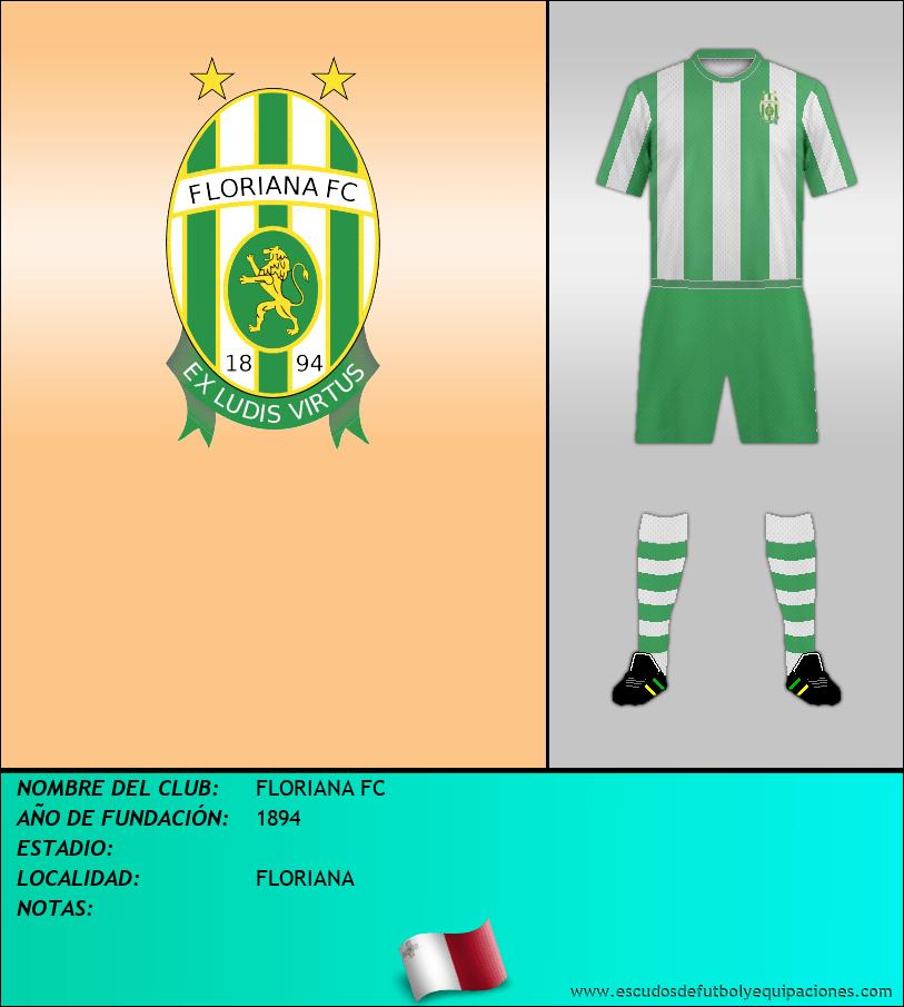 Escudo de FLORIANA FC