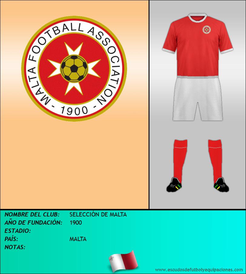 Escudo de SELECCIÓN DE MALTA