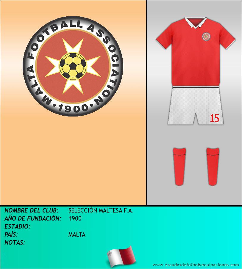 Escudo de SELECCIÓN MALTESA F.A.
