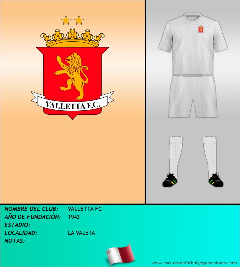 Escudo de VALLETTA FC