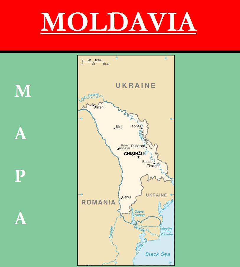 Escudo de MAPA DE MOLDAVIA