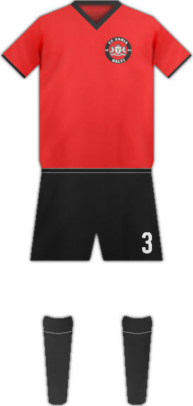 Equipación FC ZARIA BALTI