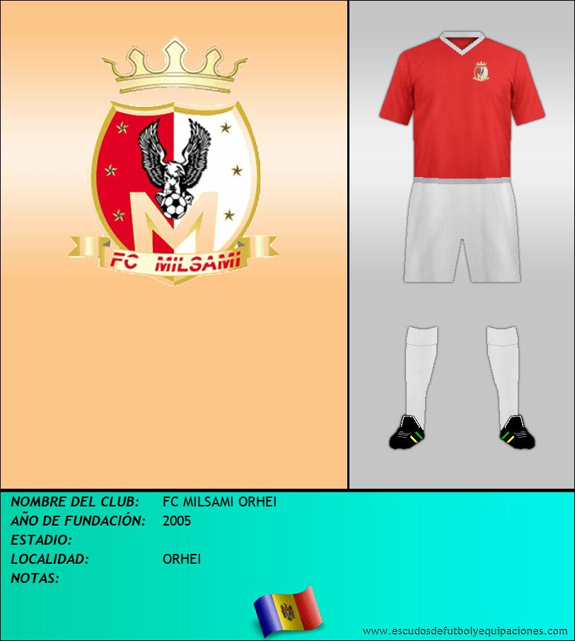Escudo de FC MILSAMI ORHEI