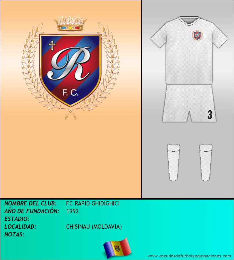 Escudo de FC RAPID GHIDIGHICI
