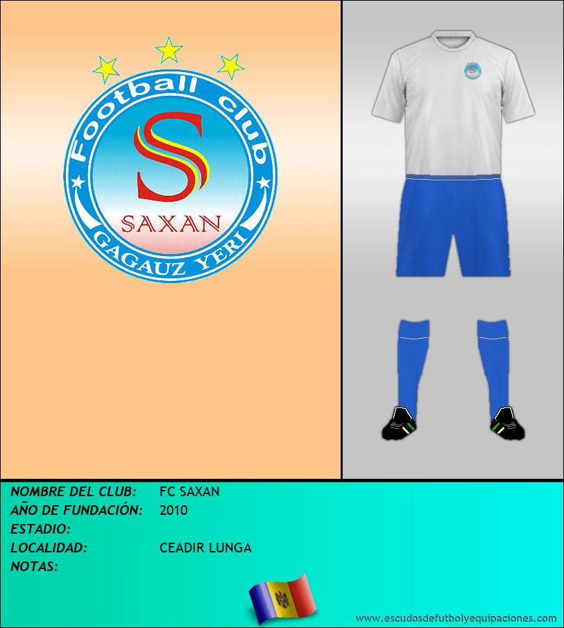 Escudo de FC SAXAN